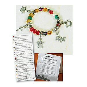 Picture of Nativity Advent Bracelet and Card