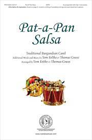 Picture of Pat-a-Pan Salsa Instrumental Track Accompaniment CD