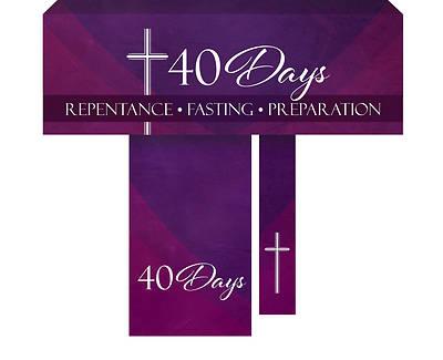 Picture of 40 Days Lent 3-Piece Parament Set