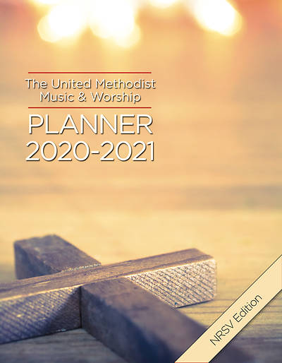 Picture of The United Methodist Music & Worship Planner 2020-2021 NRSV Edition
