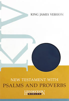 Picture of New Testament with Psalms & Proverbs-KJV