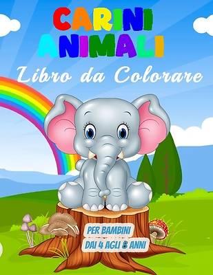 Picture of Carini Animali Libro da Colorare per Bambini dai 4 agli 8 Anni