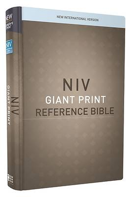 NIV, Reference Bible, Giant Print, Hardcover, Red Letter Edition, Comfort Print