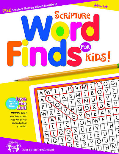 Scripture Word Finds for Kids