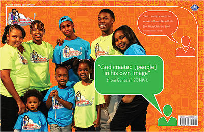 UMI VBS 2014 The Jesus Connection Bible Verse Posters Jr/Teen (10 pkg)