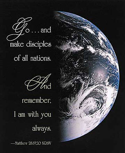 Picture of Make Disciples of All Nations Bulletin, Large Size (Package of 50)