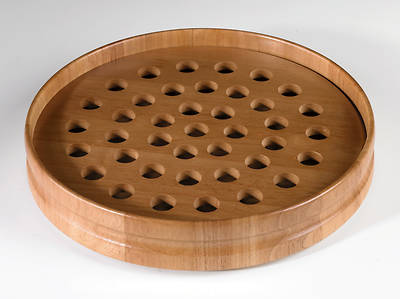 Maple Communion Tray - Pecan Finish
