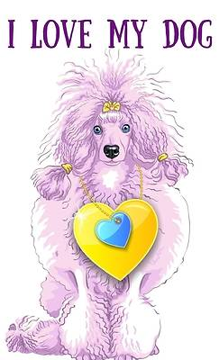 Picture of I love my dog