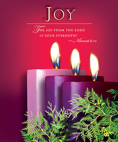 Advent Sunday 3 Joy Bulletin 2014, Large (Package of 50)