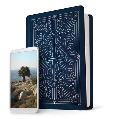 Picture of Filament Bible NLT (Leatherlike, Blue)