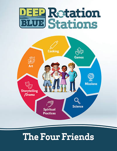 Picture of Deep Blue Rotation Stations: The Four Friends - Entire Unit Download