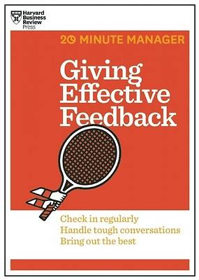 Picture of Giving Effective Feedback