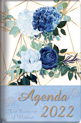 Picture of The Treasure of Wisdom - 2022 Daily Agenda - Royal Blue Roses