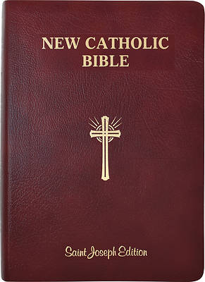 Picture of St. Joseph New Catholic Bible (Giant Type)
