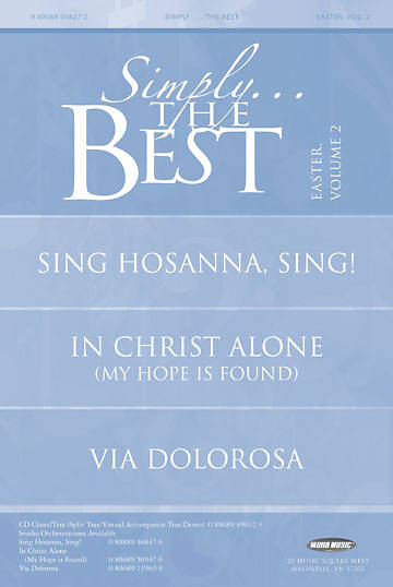 Simply The Best Easter Volume 2 Booklet