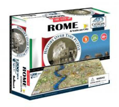 Picture of 4D Cityscape Rome History Time Puzzle