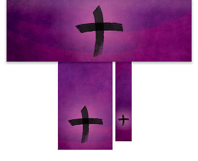 Cross of Ashes Economy 3-Piece Altar Set