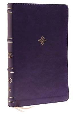Picture of Nkjv, Thinline Bible, Leathersoft, Navy, Thumb Indexed, Red Letter Edition, Comfort Print