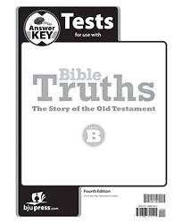 Picture of Bible Truths Level B Answer Key Grade 8 4th Edition