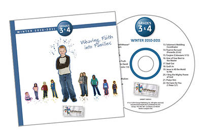 Picture of FaithWeaver Grades 3 & 4 CD