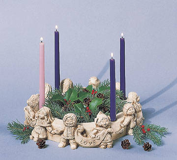 Advent Wreath Children of the World