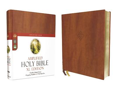 Picture of Amplified Holy Bible, XL Edition, Leathersoft, Brown