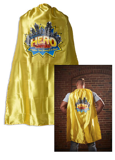 Vacation Bible School VBS Hero Central Adult Cape with Logo