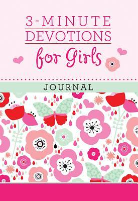 Picture of 3-Minute Devotions for Girls Journal