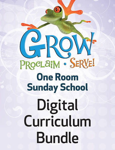 Picture of Grow Proclaim Serve One Room Sunday School Kit Fall 1