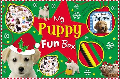 Picture of My Puppy Fun Box [With Doodle Activity Book, Perfect Puppies Mini Noteboo and 4 Coloring Pencils and 4 Photo Postcar