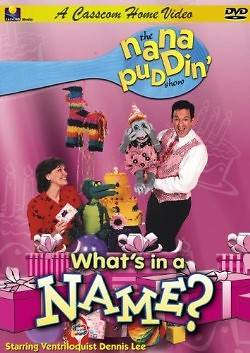 Nana Puddin Whats in a Name? Christian Version DVD