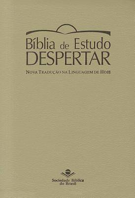Portuguese Life Recovery Study Bible Ntlh (Tan)