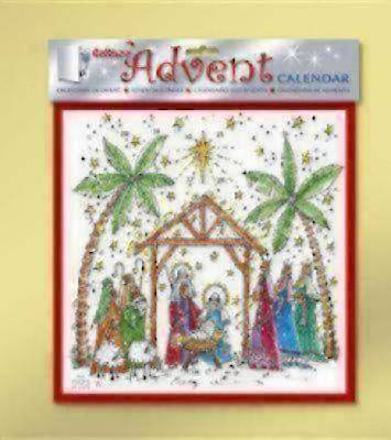 Starlight Nativity Advent Calendar #CA742