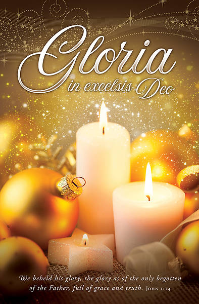Picture of Gloria In Excelsis Deo Christmas Regular Size Bulletin