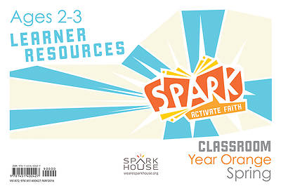 Picture of Spark Classroom Ages 2-3 Learner Leaflet Year Orange Spring