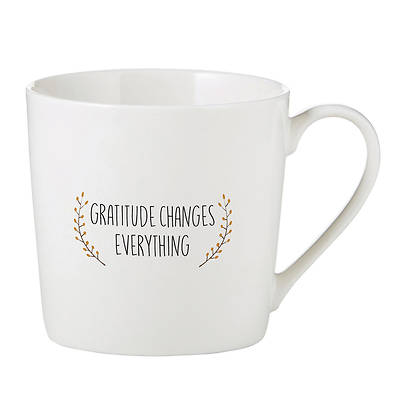 Picture of Cafe' Mug : Gratitude Changes Everything
