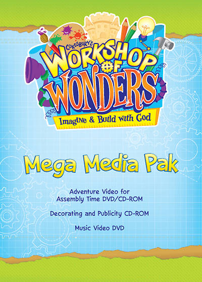 Vacation Bible School (VBS) 2014 Workshop of Wonders Mega Media Pak