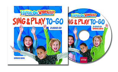 Picture of Hands On Worship Sing & Play To Go CD (5 Pack) Spring 2015