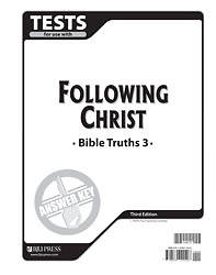 Bible Truths Tests AK Grd 3 3rd Edition