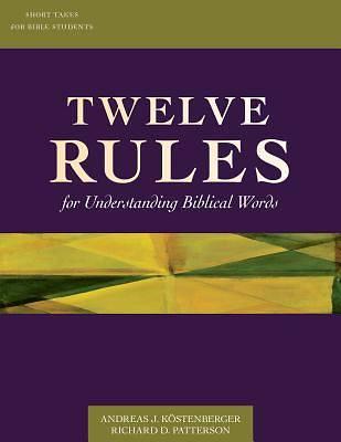 Picture of Twelve Rules/Understanding/Words (PDF)