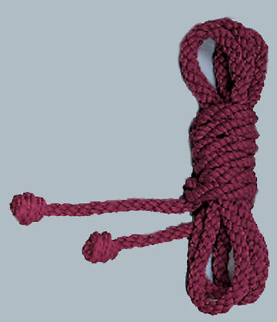 Picture of Purple Rope Cincture, 4 Yards