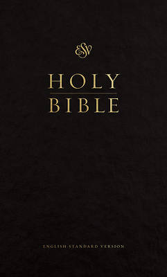 Picture of ESV Pew Bible (Black)