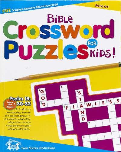 Bible Crossword Puzzles for Kids!