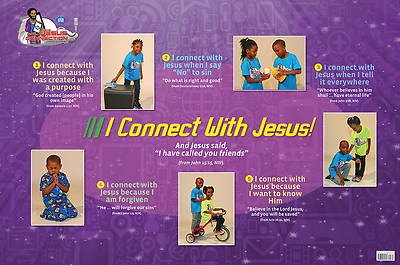 UMI VBS 2014 The Jesus Connection Application Poster Pre/Prim
