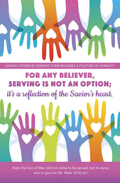 Picture of For Any Believer Servanthood Regular Size Bulletin