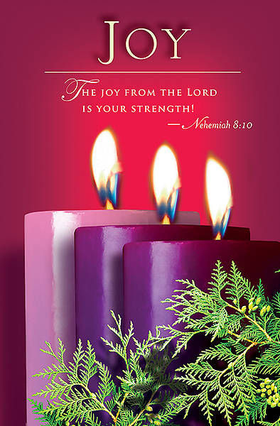 Advent Sunday 3 Joy Bulletin 2014, Regular (Package of 50)