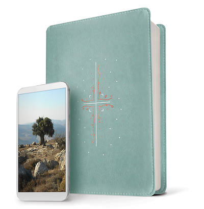 Picture of Filament Bible NLT (Leatherlike, Teal)