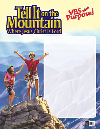 Concordia Vacation Bible School 2013 Tell It On The Mountain Publicity Poster