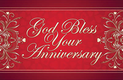 Picture of God Bless Your Anniversary Postcard