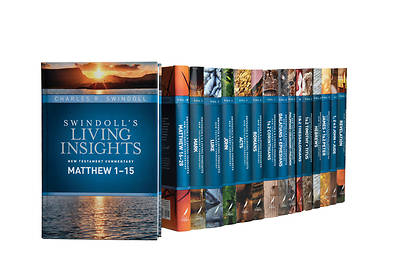 Picture of Swindoll's Living Insights New Testament Complete Set